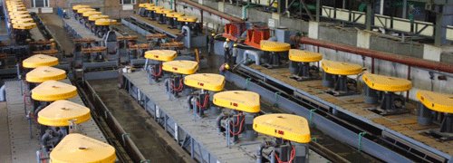 金矿选矿生产线