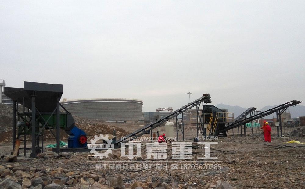 宁波时产40吨青石生产线现场视频/