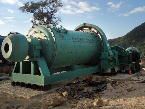 缅甸日处理250吨锰矿选矿生产线现场