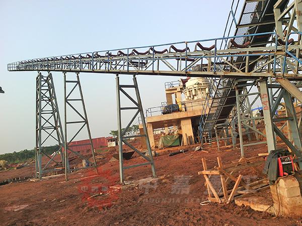 日产1500方石料生产线配置现场