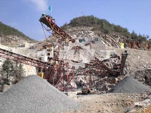石料粉碎生产线