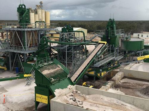 铝土矿生产线