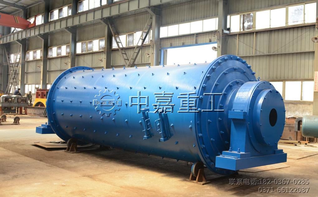 制粉生产线中不可或缺的磨粉设备球磨机/